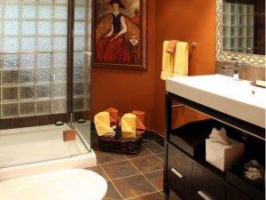新古典主义风格 卫浴瓷砖铺贴效果图