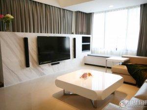 现代简约风两居室瓷砖装修 淡色系瓷砖装修