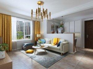二居室宜家风格瓷砖装修效果图