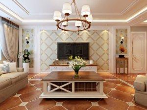 美式风格瓷砖效果图 现代仿古砖图片