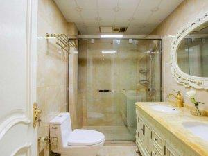欧式风格瓷砖图片 米色卫生间瓷砖效果图