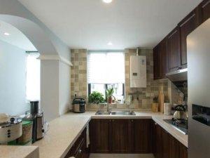 简约美式风格瓷砖图片 厨房马赛克墙砖效果图