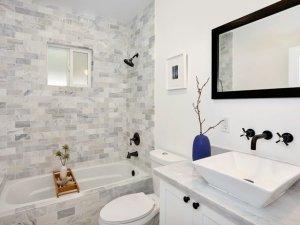 简约风格瓷砖图片 卫生间瓷砖装修效果图