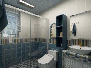 地中海风格瓷砖图片 浴室瓷砖装修效果图