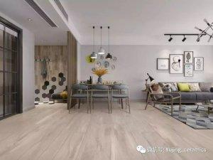 裕景新品大板瓷砖空间效果图 简洁大气