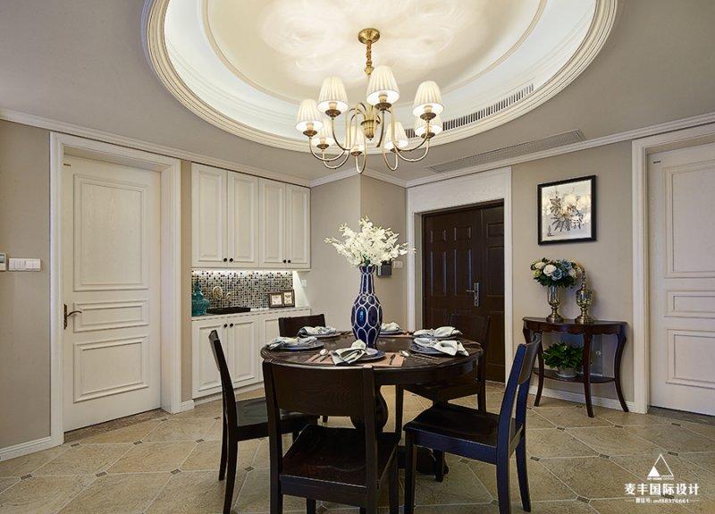 简约美式风格瓷砖图片 温馨明亮厨房瓷砖装修效果图