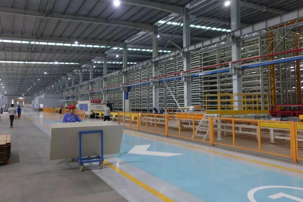 新明珠陶瓷集团智能仓储持续发力解决产品储存问题