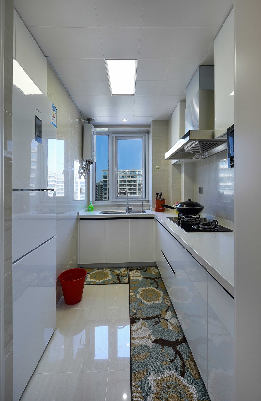 现代简约风格瓷砖装修效果图 客厅白色装修图片