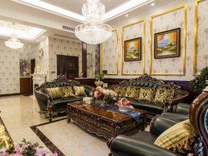 简欧奢华风格瓷砖装修图片 客厅典雅装修效果图
