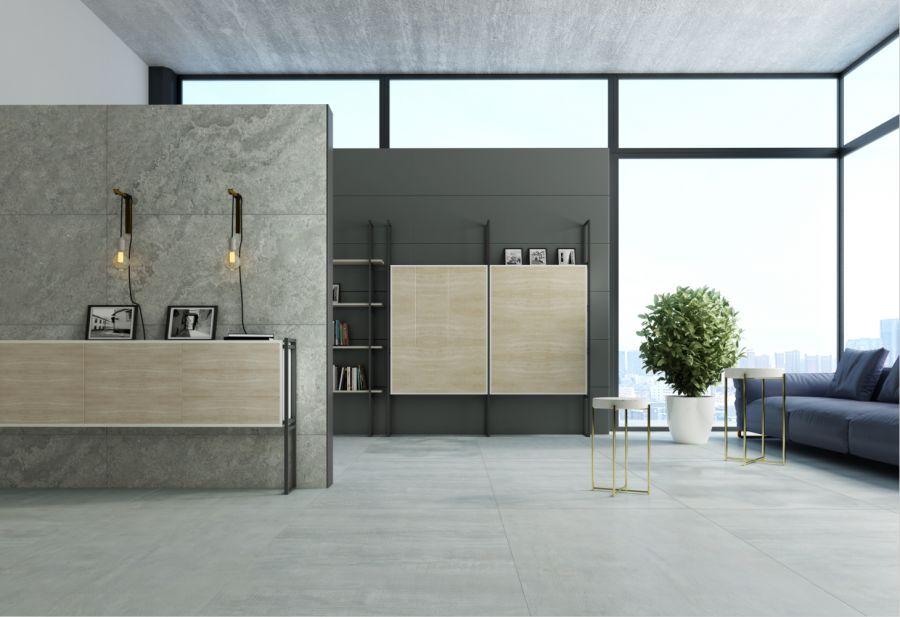 高德瓷砖玛尼灰 灰色系瓷砖效果图
