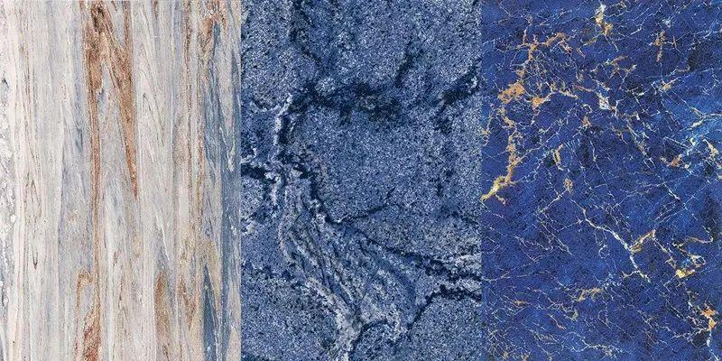 简一陶瓷皇家蓝系列 大理石瓷砖效果图