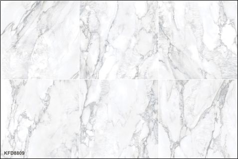 金艾陶瓷砖加盟产品 15°缎光釉瓷砖效果图