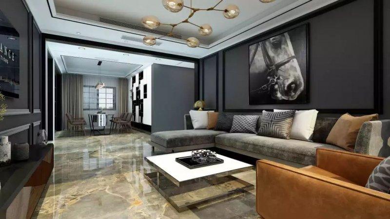 ICC瓷砖克什米尔系列 大规格瓷砖装修效果图