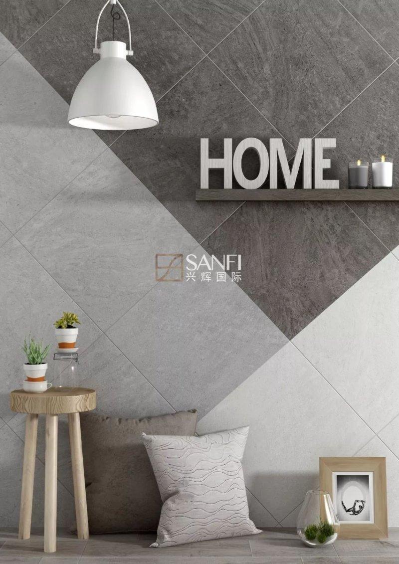 兴辉陶瓷达泰系列 简约风格瓷砖装修效果图
