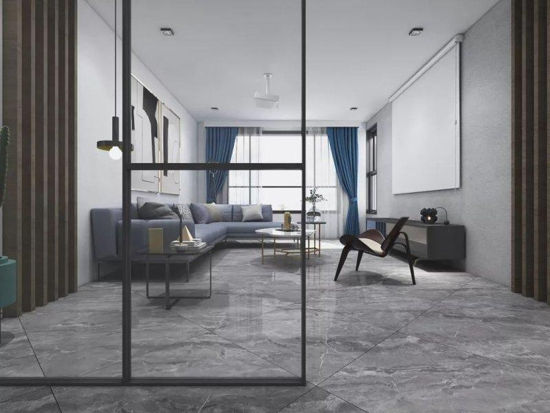 酷王陶瓷加盟产品 灰色系瓷砖装修效果图