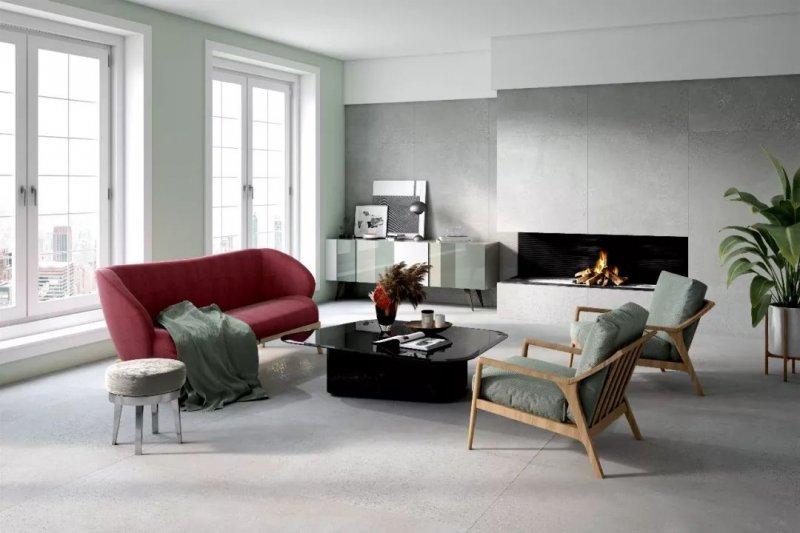 芒果瓷砖图片工艺面|仿古砖 现代简约风格陶瓷效果图