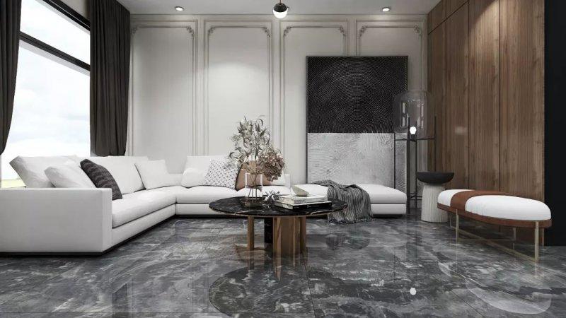 酷王陶瓷圖片750X150大板石代 現代簡約風格陶瓷效果圖
