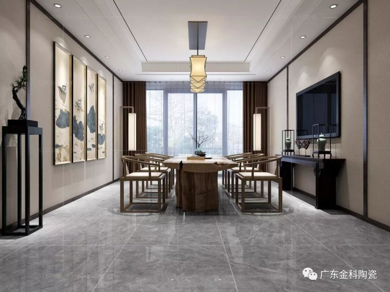 金科陶瓷圖 新中式風格陶瓷圖片效果圖