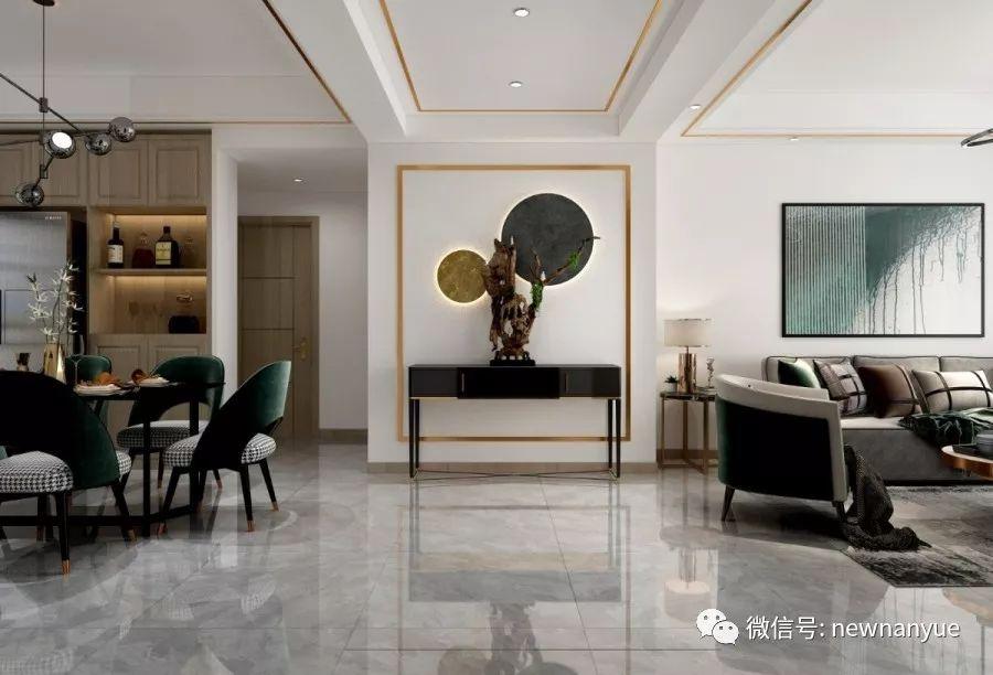 新南悅陶瓷圖片 現代簡約風格陶瓷效果圖