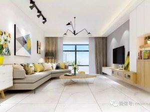 新南悦陶瓷图片通体大理石 现代简约风格陶瓷效果图