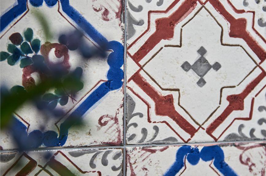 蒙娜丽莎瓷砖图片 新中式风格陶瓷效果图