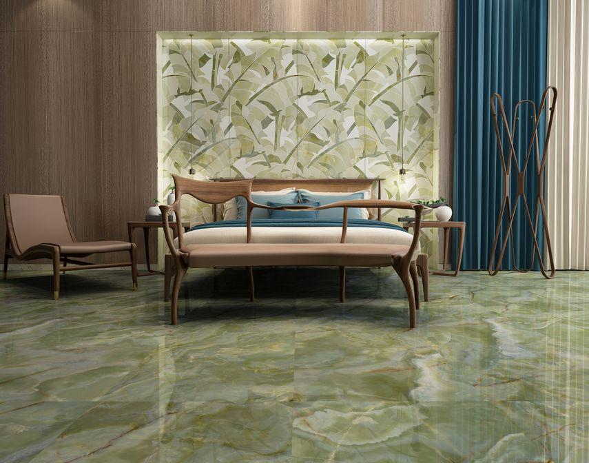 欧神诺陶瓷图片卡莫·玺系列 现代轻奢风格陶瓷效果图