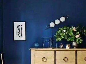 欧福莱瓷砖图片经典蓝 现代北欧风格陶瓷效果图