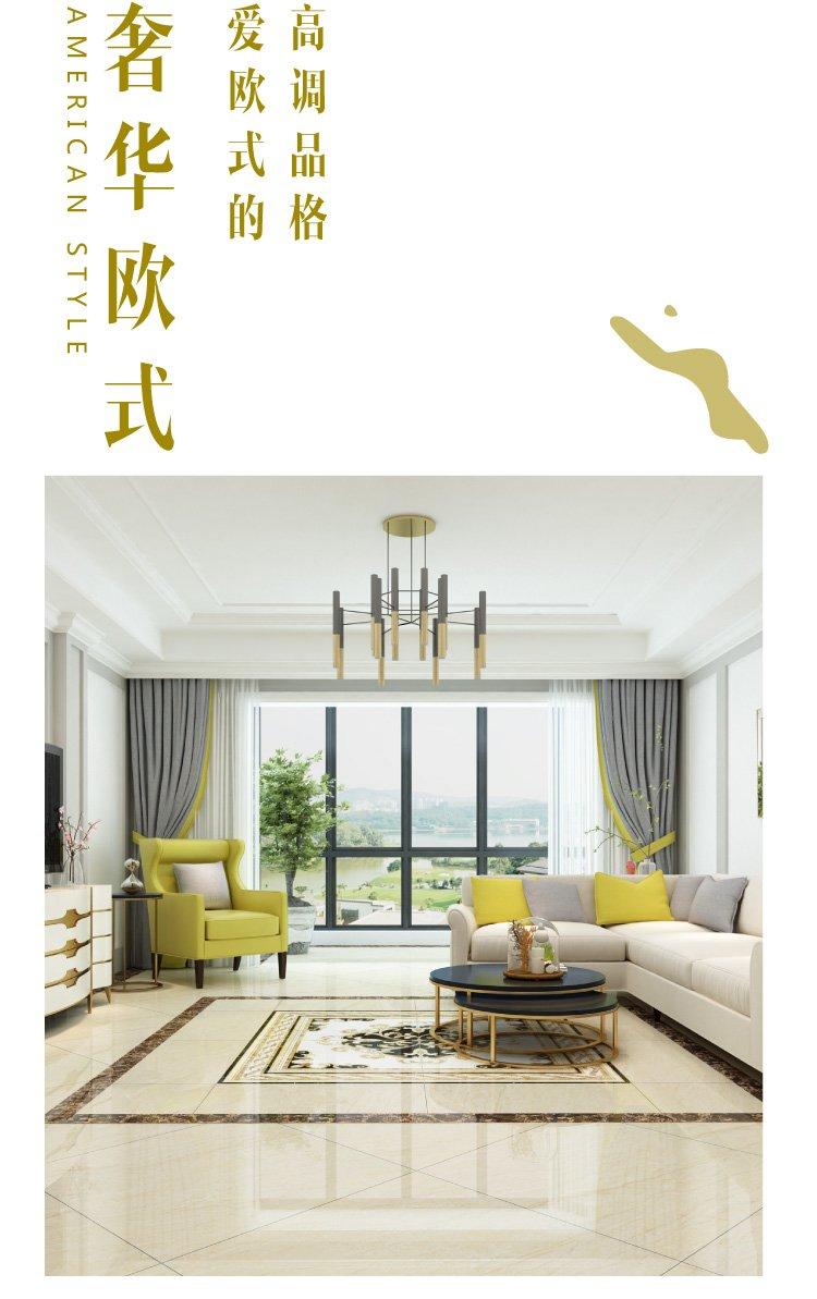 东鹏瓷砖 客厅地板砖瓷砖餐厅地砖卧室全抛釉800x800效果图_3