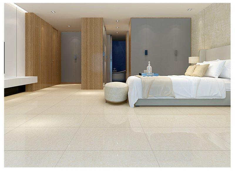 冠軍瓷磚  客廳臥室書房地磚 全拋釉瓷磚 800x800 炎黃玉效果圖