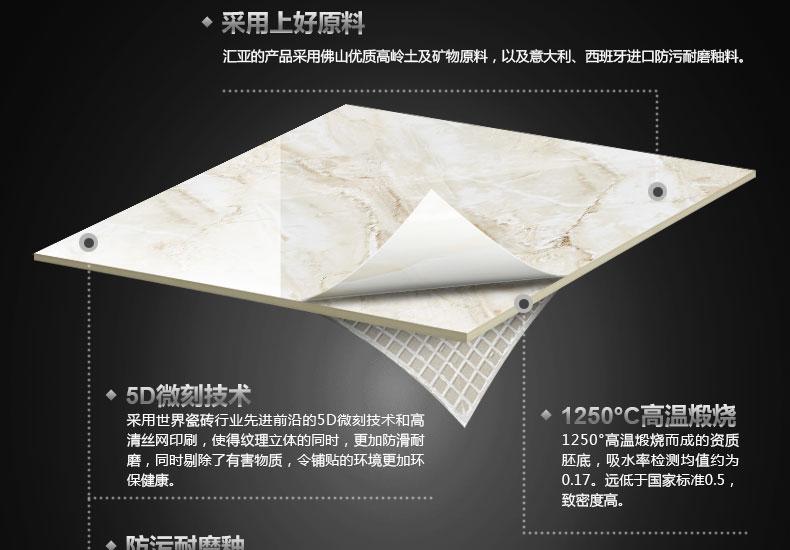 匯亞瓷磚 地板磚瓷磚800x800客廳地磚防滑臥室地磚背景墻磁磚效果圖