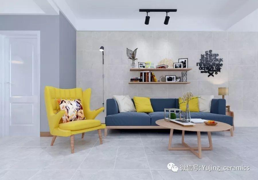 裕景陶瓷图片 现代简约风装修效果图