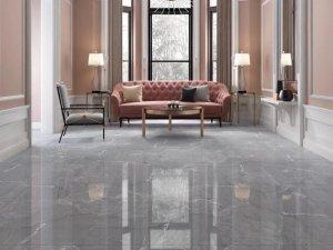 宏宇陶瓷灰色系通体砖系列 现代简约风格装修效果图