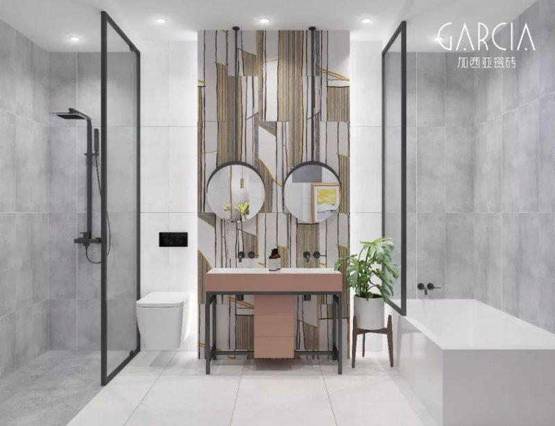 加西亚图片黑武士连纹大板系列 现代风格瓷砖图片效果图