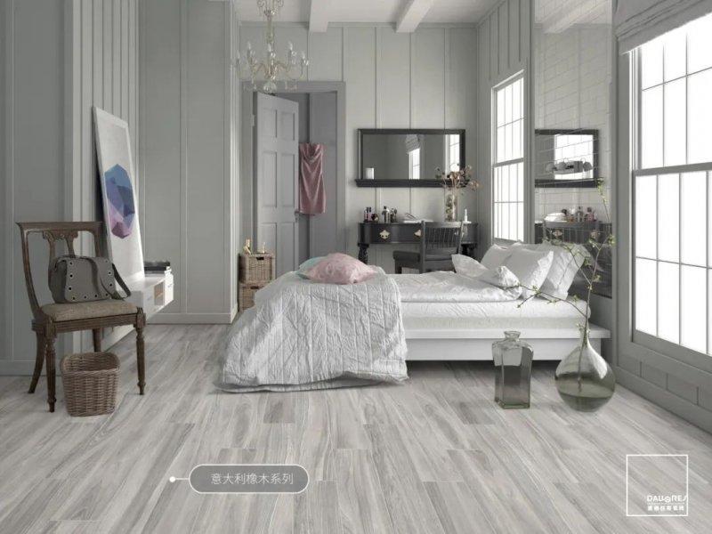 道格拉斯瓷砖灰色瓷砖图片 北欧风格装修效果图