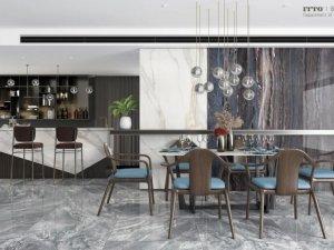 意特陶陶瓷餐厅设计图片 北欧风格陶瓷装修效果图