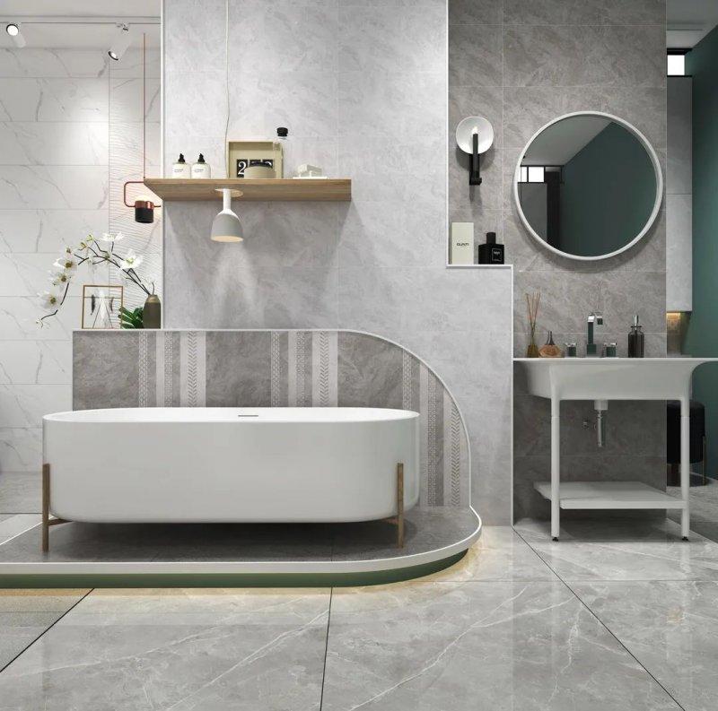 意特陶陶瓷时尚系列图片 个性浴室装修效果图