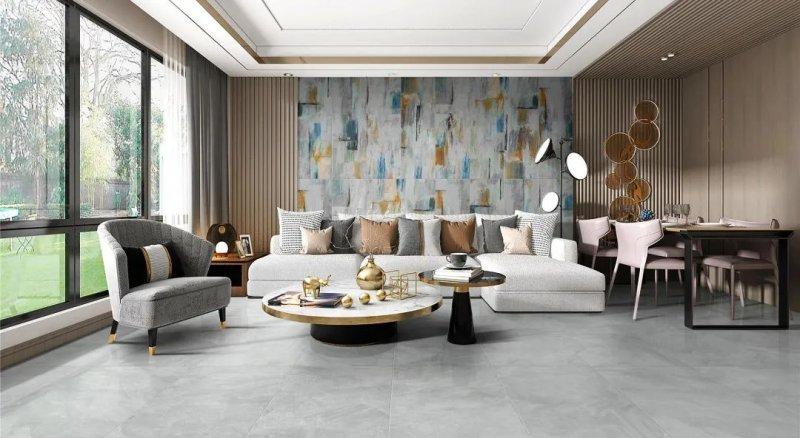 顺辉瓷砖自然的舞系列图片 轻奢风格装修效果图