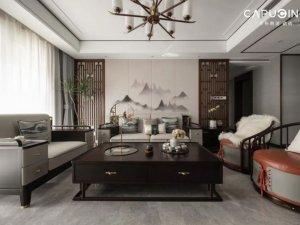 卡布奇诺瓷砖系列图片 新中式装修效果图