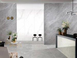 """伊莉莎白瓷砖 """"德鲁纳""""系列岩板效果图"""