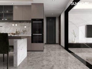尚豪美家陶瓷现代豪宅设计效果图