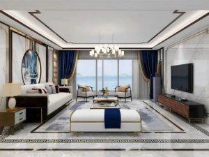 冠珠陶瓷客厅瓷砖装修效果图