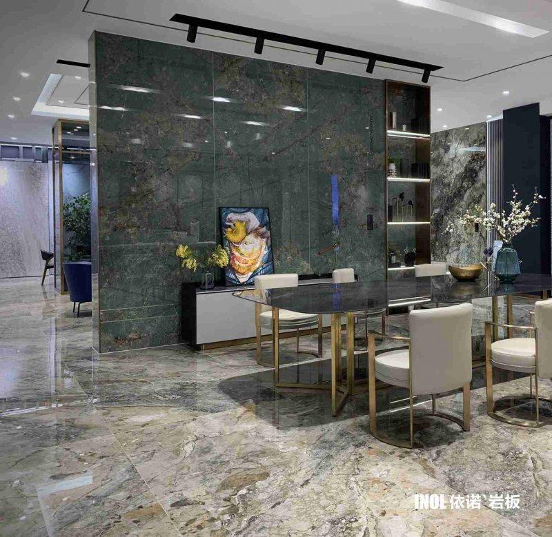 依诺岩板奢石系列「亚马逊翡翠绿」产品图_3