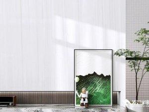 宏宇陶瓷冬木石系列 背景墙瓷砖效果图