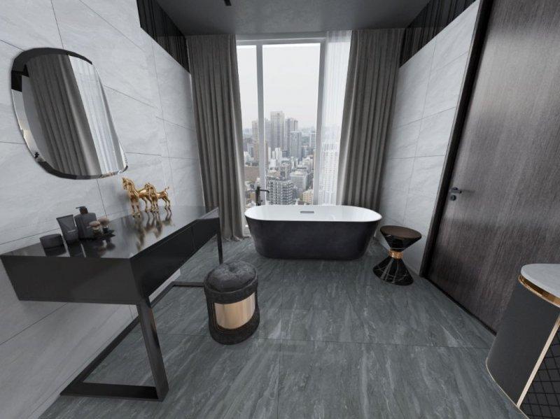 比卡拉陶瓷400×400mm通体防滑地砖图片_10