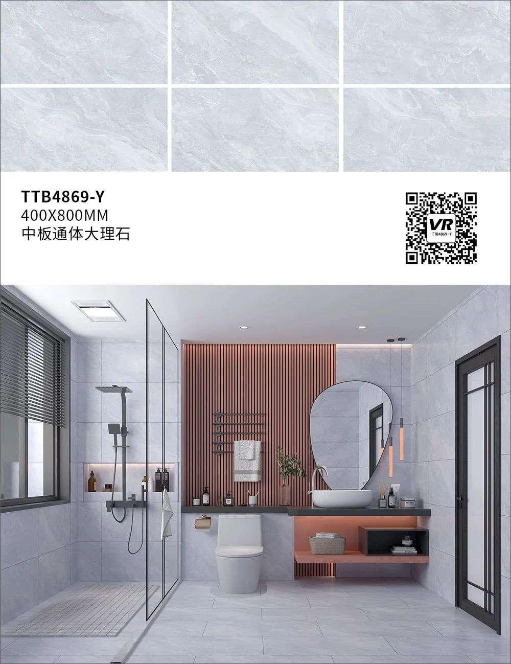 金雅陶陶瓷通体中板大理石瓷砖图片展示_2