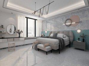 欧神诺瓷砖岩板产品 卧室装修效果图