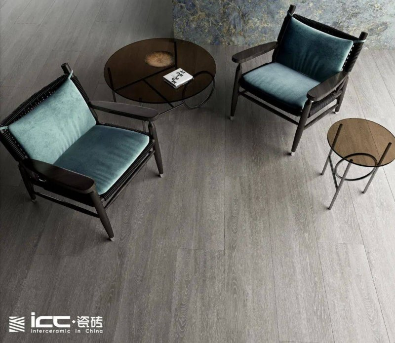 ICC瓷砖首发岩板木纹砖「爱丽丝」系列 陶瓷产品及装修效果图_4