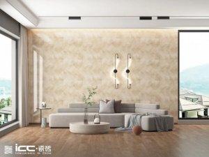 ICC瓷砖首发岩板木纹砖「爱丽丝」系列 陶瓷产品及装修效果图