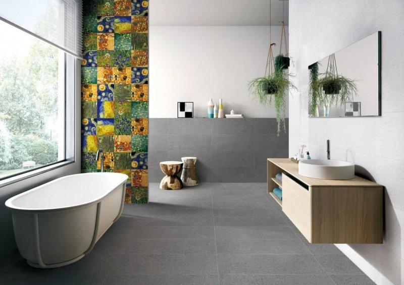 伊莉莎白瓷砖产品 高颜值卫生间设计搭配效果图_5