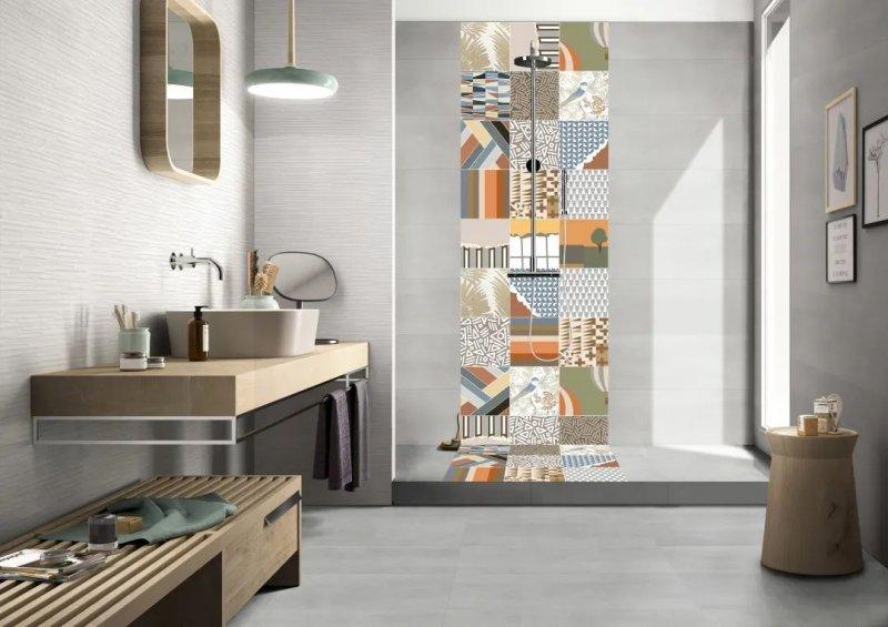伊莉莎白瓷砖产品 高颜值卫生间设计搭配效果图_6